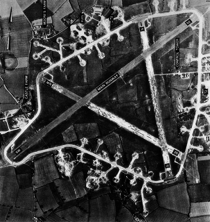 RAF Rattlesden Royal Air Force station in Suffolk, England