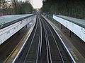 Ravensbourne station high southbound.JPG