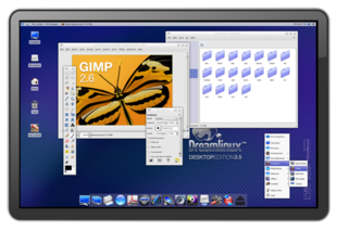 Screenshot von Dreamlinux 3.5
