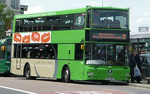 East Lancs Kinetec - Image: Reading Transport 501