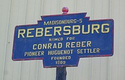 Official logo of Rebersburg, Pennsylvania
