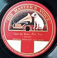 Record Label His Master's Voice, UK, Jazz me Blues.jpg