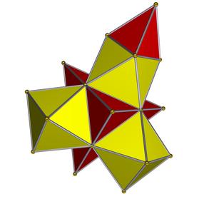 A4 polytope - Image: Rectified pentachoron net