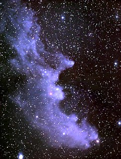 Reflection nebula in astronomy clouds of interstellar dust