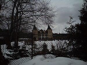 Refsnes Gods - The hotel during winter
