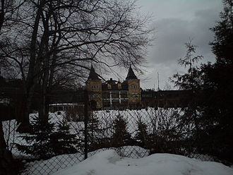 Refsnes Gods - The hotel during winter