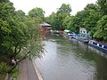 Regents Canal with the Chinese Restaurant - geograph.org.uk - 31894.jpg