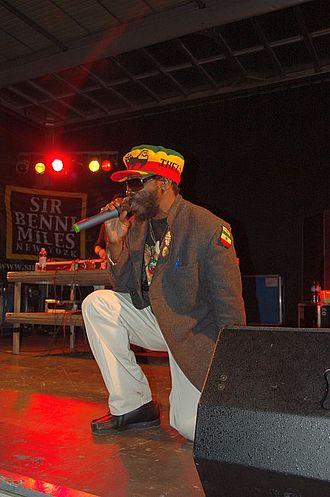King Kong (musician) - Image: Reggae artist King Kong in 2007 (2)
