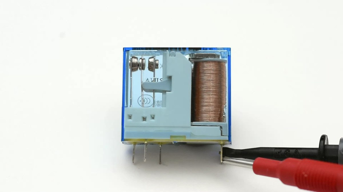 Relay Wikipedia Shortcircuit Measurement Circuit Of The Coil Measuringandtest