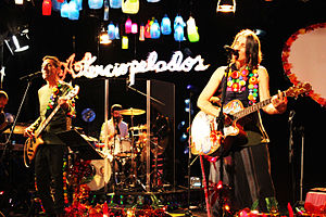 Music of Colombia - Aterciopelados is a Spanish-language rock band from Colombia.