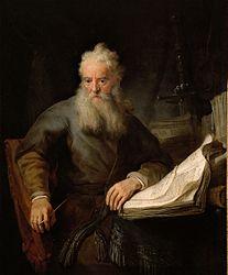 Rembrandt: Apostle Paul