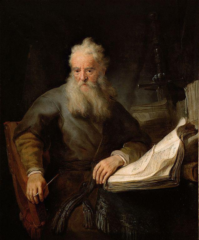 사도 바울 (렘브란트, Rembrandt Harmenszoon van Rijn, 1633년)