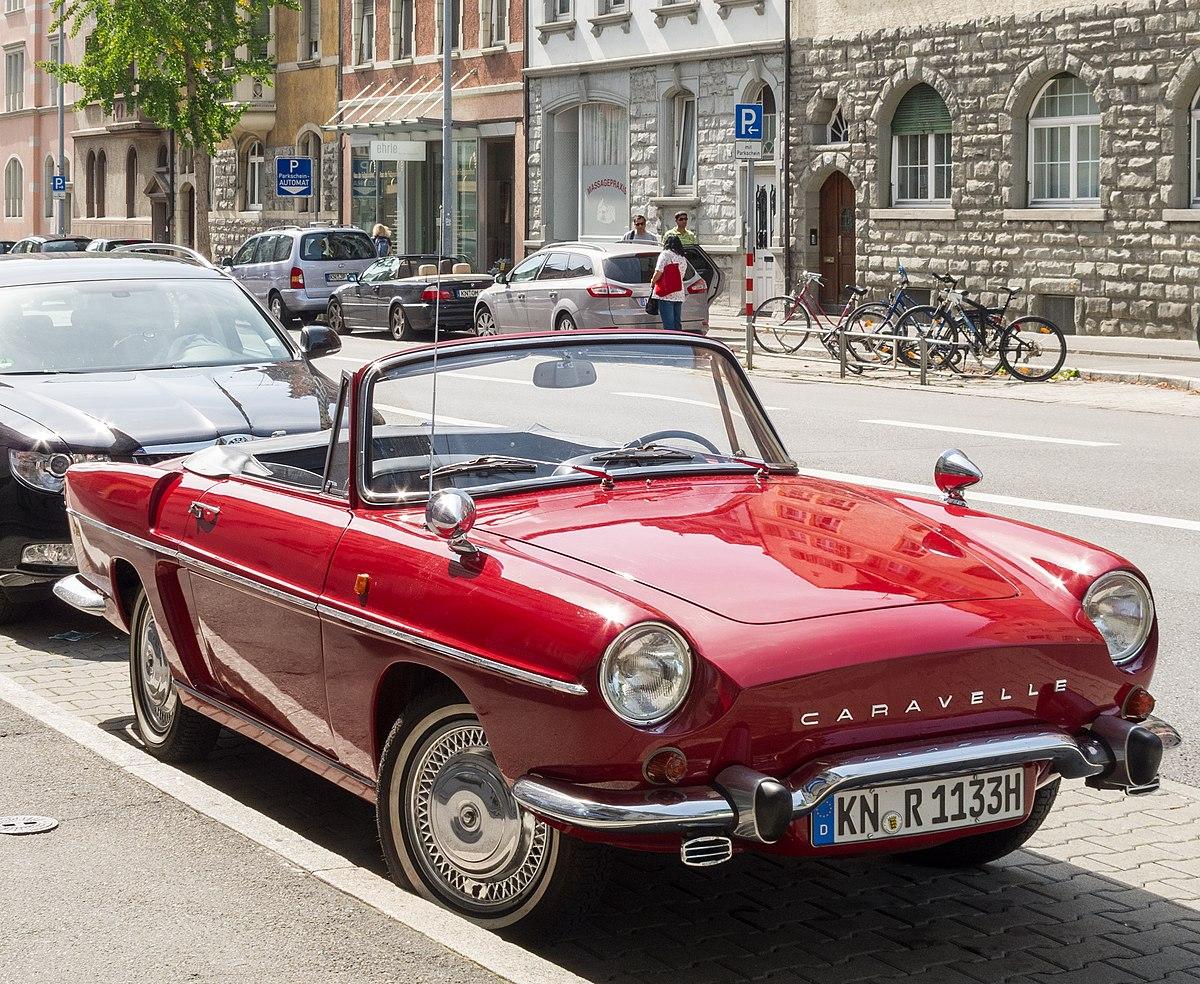 Px Renault Caravelle In Konstanz