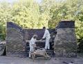 Restorers at work on Mount Vernon, George Washington's estate in Virginia LCCN2011634859.tif