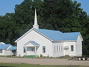 Revised Holly Springs Baptist Church, Claiborne Parish, LA, IMG 3905
