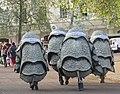 Rhinos at end of London Marathon 2011 (5630052987).jpg