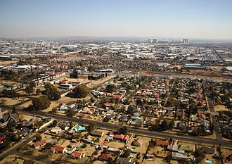 City of Ekurhuleni Metropolitan Municipality - The Rhodesfield suburb of Kempton Park