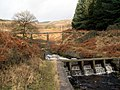 Rhodeswood Reservoir Weir - geograph.org.uk - 663398.jpg