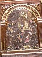 Ribe St.Katharina - Kanzel 4 Anbetung Könige