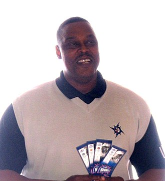 1989 NBA expansion draft - Rick Mahorn was selected by the Minnesota Timberwolves from the Detroit Pistons.