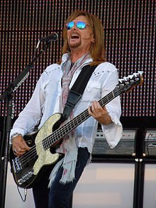 Ricky Phillips performing with Styx on July 2, 2010 at Memorial Park in Omaha, Nebraska