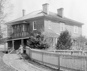 Rideau Cottage - Rideau Cottage pictured in 1892