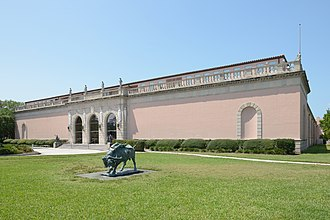 John and Mable Ringling Museum of Art - Image: Ringling Museum entrance main facade Sarasota Florida