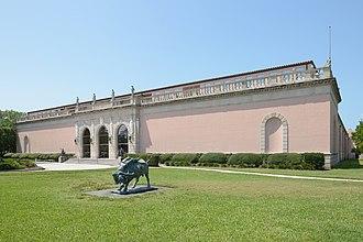John and Mable Ringling Museum of Art - Image: Ringling Museum entrance main facade Sarasota Florida