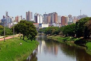 Sorocaba - Image: Rio Sorocaba (cropped)