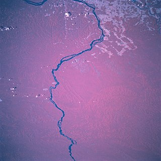 tributary river of the Amazon River in South America