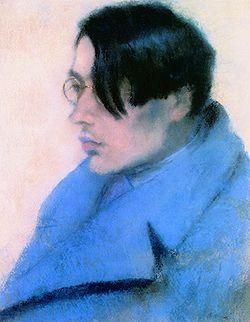 Szabó Lőrinc (Rippl-Rónai József pasztellrajza, 1923)