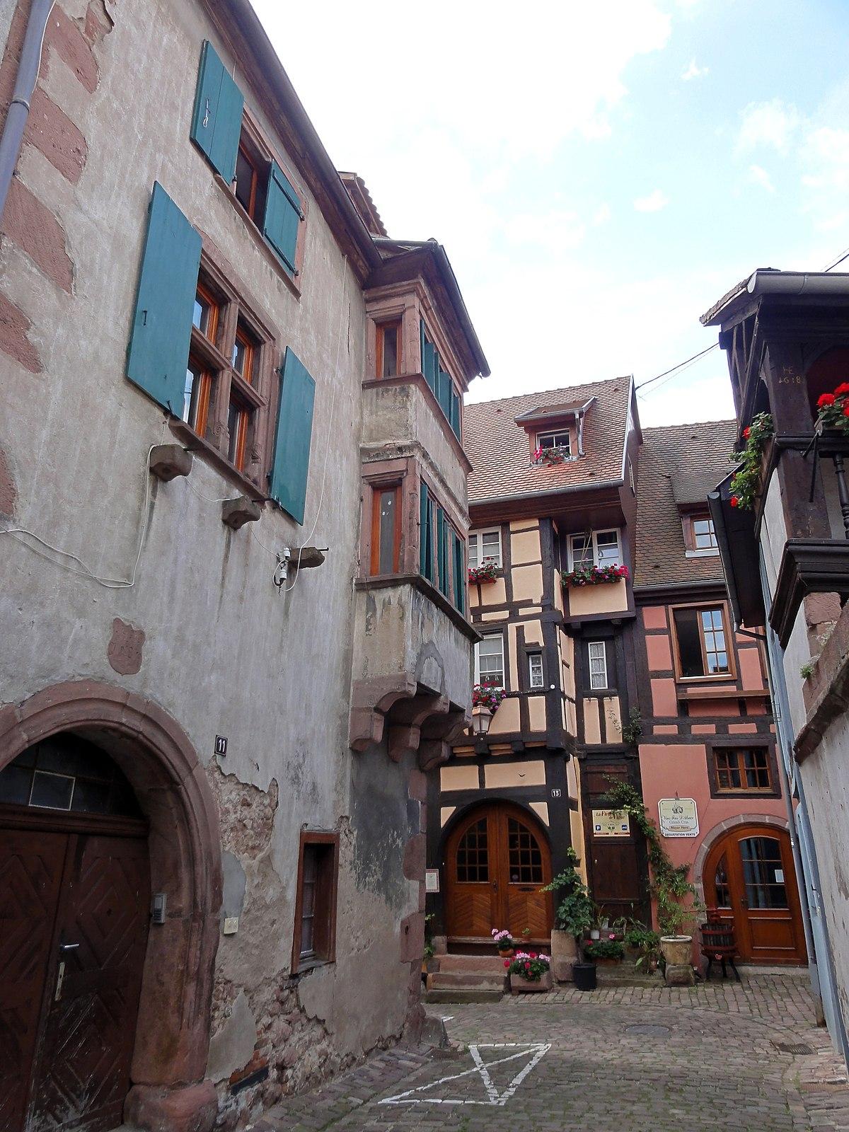 Maison au 11 rue saint nicolas riquewihr wikip dia for Maison nicolas