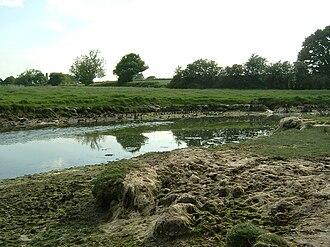 River Hamble - Medieval shipbuilding site on the River Hamble