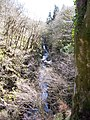 River Lednock coming from the Deil's Caldron into the Little Caldron - geograph.org.uk - 745749.jpg