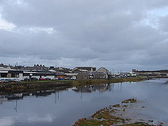 Thurso - Thurso from the river