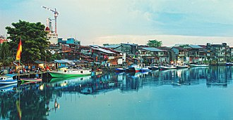 Manado - Fisherman village in Sindulang