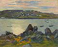 Robert Antoine Pinchon, 1909-10, Les coteaux de Belbeuf, oil on canvas, 60.5 x 73.5 cm.jpg