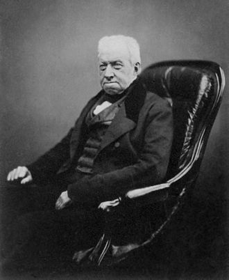 Robert Brown (botanist, born 1773) - Robert Brown in 1855