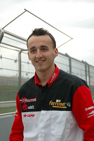 Robert Kubica - Kubica with the Epsilon Euskadi team