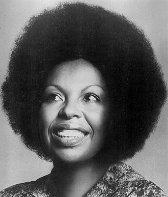 The Closer I Get to You - One of the singers Roberta Flack in 1976