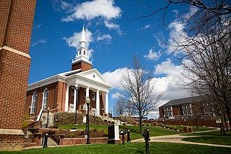Waynesburg University - Roberts Chapel
