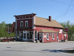 Hooksett, New Hampshire - Robie's Country Store in Hooksett Village