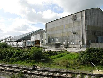 Imerys - The Imerys china clay works in Bugle, Cornwall, United Kingdom