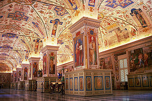 inside of the vatican museums