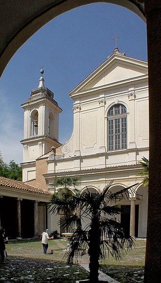 Basilica of San Clemente al Laterano - Image: Roma San Clemente BW 1