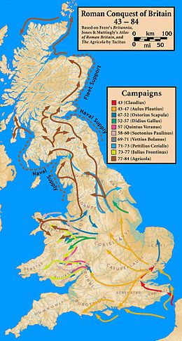 Description de l'image Roman.Britain.campaigns.43.to.84.jpg.