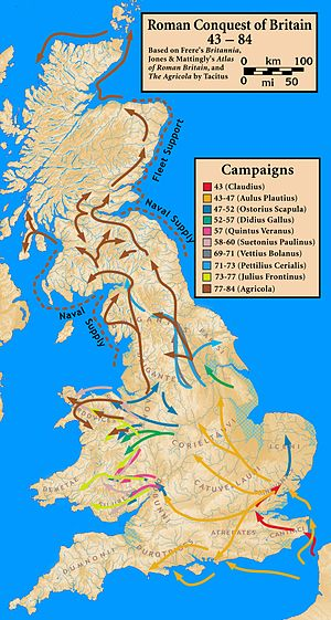 Roman conquest of Britain - Roman conquest of Britain.