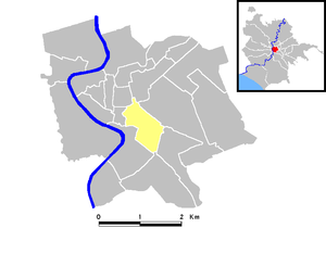 Campitelli - Map of the rione
