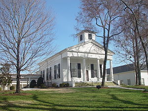 Roswell, Georgia - The old Roswell Presbyterian Church, built in 1839
