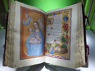 Rothschild Prayerbook - Rothschild Prayerbook, two-page opening